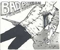 "Bad Parents- Purple Heart 7"" Regular Cover"
