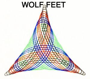 Wolf Feet- S/t Cassette Tape